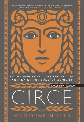 Cover image for Circe [large print] / Madeline Miller.