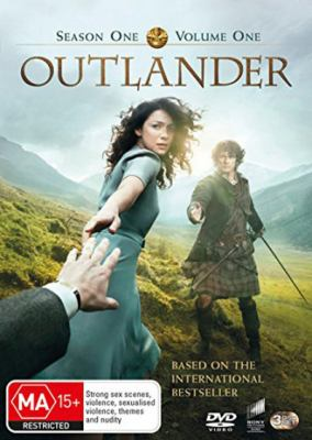 Cover image for Outlander [DVD]. Season one, volume one / directed by John Dahl and two others ; written by Ronald D. Moore and five others; created by Ronald D. Moore. Cast: Sam Heughan, Caitriona Balfe, Tobias Menzies.