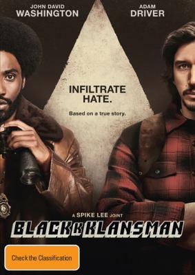 Cover image for Blackkklansman [DVD].