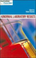 Abnormal laboratory results 的封面图片