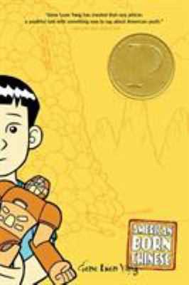 Cover image for American born Chinese / Gene Yang ; coloring by Lark Pien.