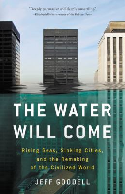 Book jacket cover of The Water Will Come