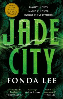 Book jacket cover of Jade City