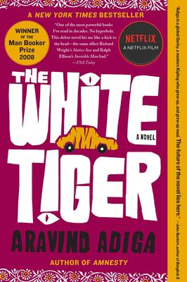Cover image for The white tiger : a novel