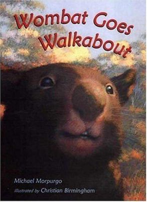Cover image for Wombat goes walkabout
