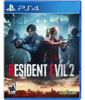 Cover illustration for Resident Evil 2
