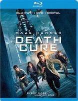 Cover illustration for Maze Runner.The Death Cure