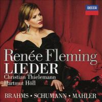 Cover illustration for Lieder : Brahms, Schumann, Mahler