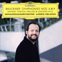 Cover illustration for Bruckner/Wagner Symphonies 6 & 9