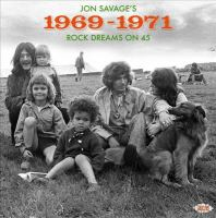 Cover illustration for Jon Savage's 1969-1971: Rock Dreams on 45