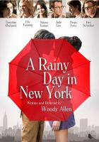 Cover illustration for A Rainy Day in New York