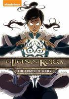 Cover illustration for The Legend of Korra (series)