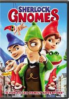Cover illustration for Sherlock Gnomes