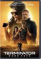 Cover illustration for Terminator-Dark Fate