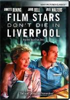 Cover illustration for Film Stars Don't Die in Liverpool