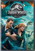 Cover illustration for Jurassic World: Fallen Kingdom