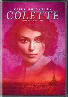 Cover illustration for Colette