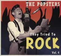 Cover illustration for The Popsters - They Tried to Rock