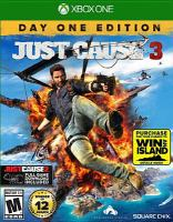Cover illustration for Just Cause 3