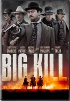 Cover illustration for Big Kill