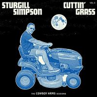 Cover illustration for Cuttin' grass. Vol. 2, The cowboy arms sessions