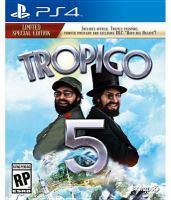 Cover illustration for Tropico 5