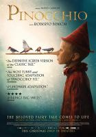 Cover illustration for Pinocchio