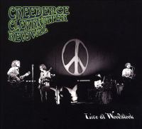 Cover illustration for Live at Woodstock