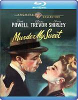 Cover illustration for Murder, My Sweet