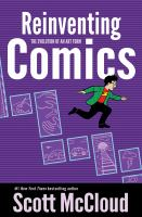 Cover illustration for Reinventing Comics: The Evolution of an Art Form