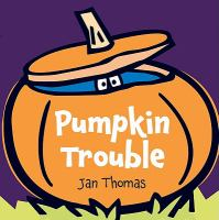 Cover illustration for Pumpkin Trouble