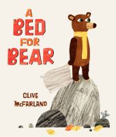 Cover illustration for A Bed for Bear