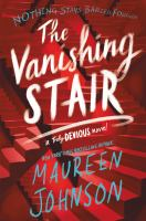 Cover illustration for The Vanishing Stair