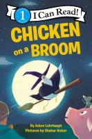 Cover illustration for Chicken on a Broom