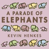 Cover illustration for Parade of Elephants