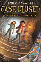 Cover illustration for Case Closed Mystery in the Mansion