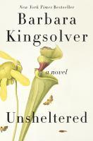 Cover illustration for Unsheltered : a novel