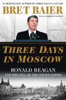 Cover illustration for Three Days in Moscow