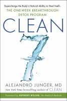 Cover illustration for Clean 7