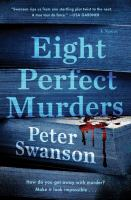 Cover illustration for Eight Perfect Murders