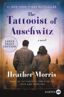 Cover illustration for The Tattooist of Auschwitz