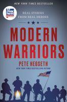 Cover illustration for Modern Warriors