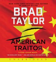 Cover illustration for American Traitor