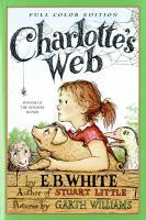 Cover illustration for Charlotte's Web