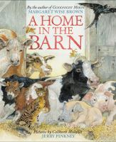 Cover illustration for A Home in the Barn