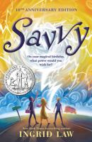 Cover illustration for Savvy
