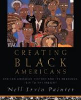 Cover illustration for Creating Black Americans