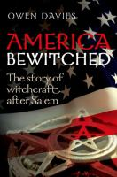 Cover illustration for America Bewitched