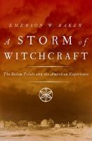 Cover illustration for A Storm of Witchcraft