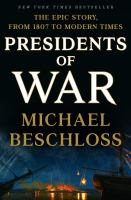 Cover illustration for Presidents of War